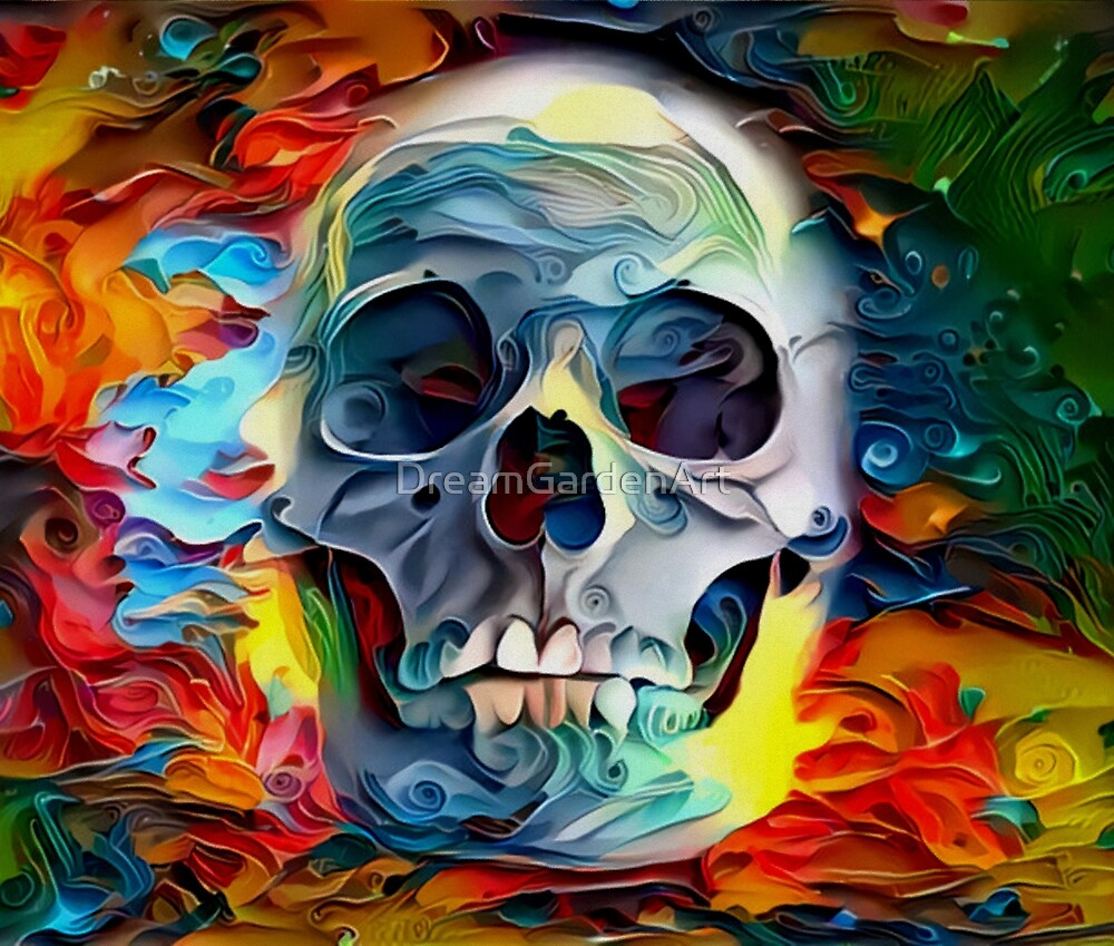 Deep Skull by Dream Garden Graphics by DreamGardenArt