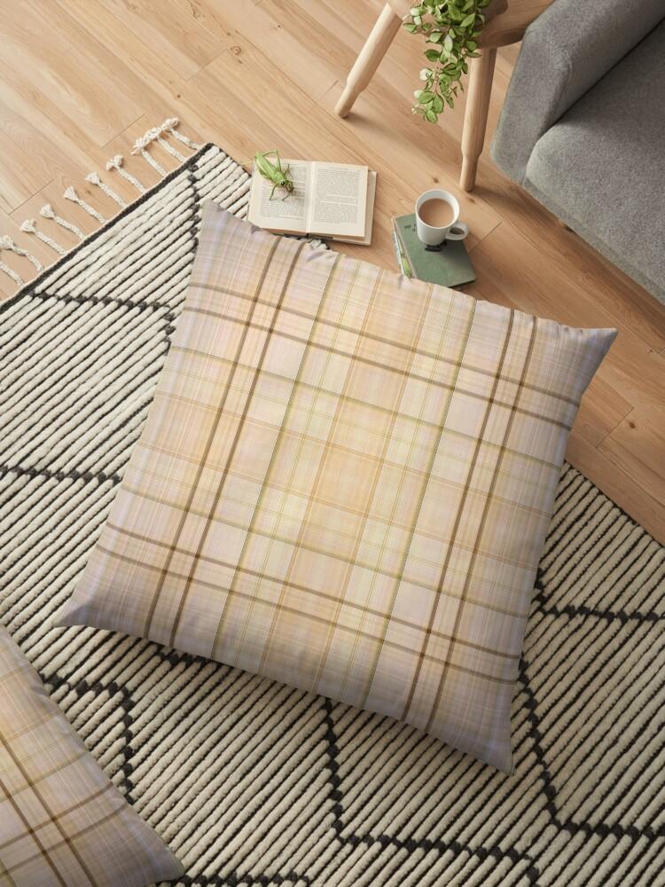 Rustic Birch Bark Plaid Pattern by WesternExposure