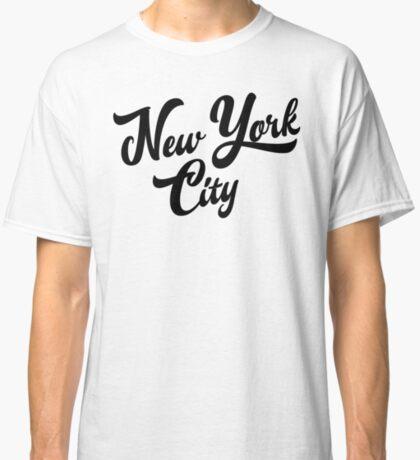 New York City Handwritting Classic T-Shirt