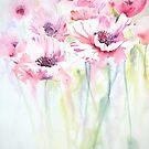 Pink Poppy Meadow by Ruth S Harris