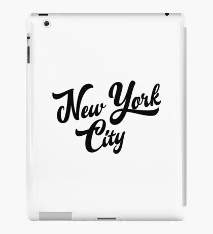 New York City Handwritting iPad Case/Skin