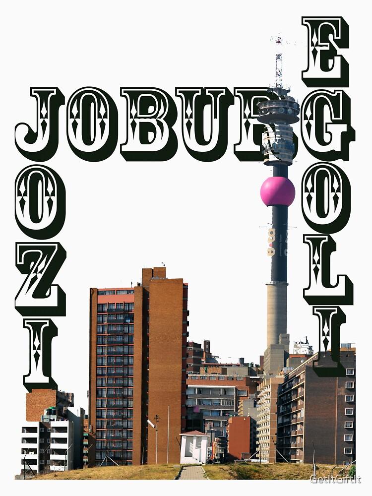 Jozi - Johannesburg Landmarks Art Design by GetItGiftIt