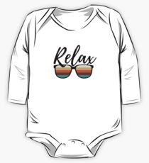 Relax Retro Chic Shades One Piece - Long Sleeve