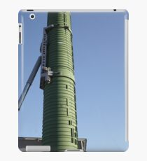 rocket launcher is aimed at the sky iPad Case/Skin
