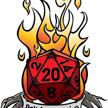 D20 Roll for Initiative by GrimsD20s
