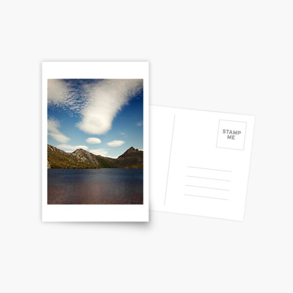 Cradle Mountain with Clouds Postcard