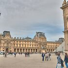 Remembering The Louvre by Michael Matthews