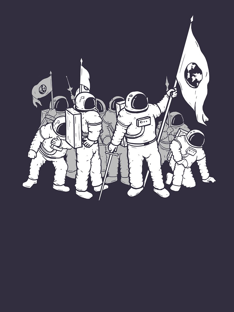 Occupy Mars Journey Space Astronaut NASA Conquer T-shirt by Madig-Vulgaire