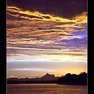 Mt Warning Sunset by Paul Cotelli