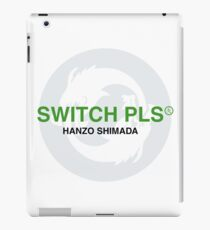 Switch Pls Branding Parody iPad Case/Skin