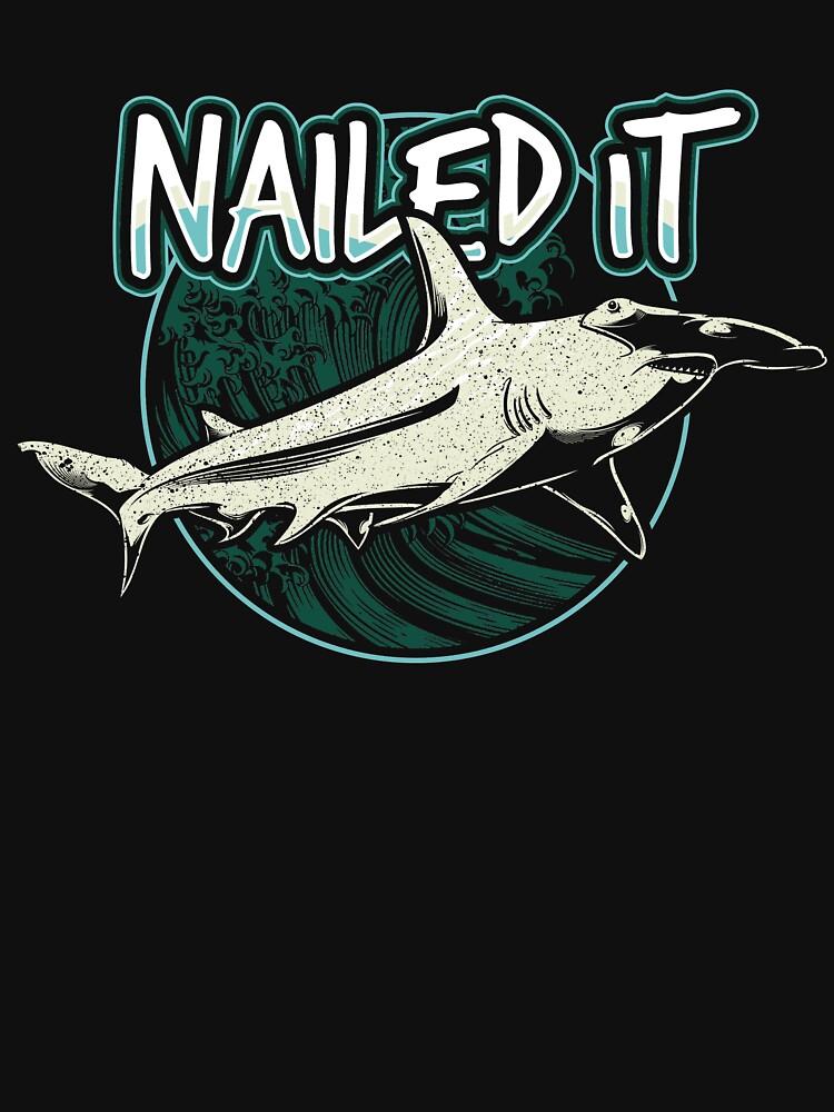 Nailed It Shark Funny by BlueBerry-Pengu