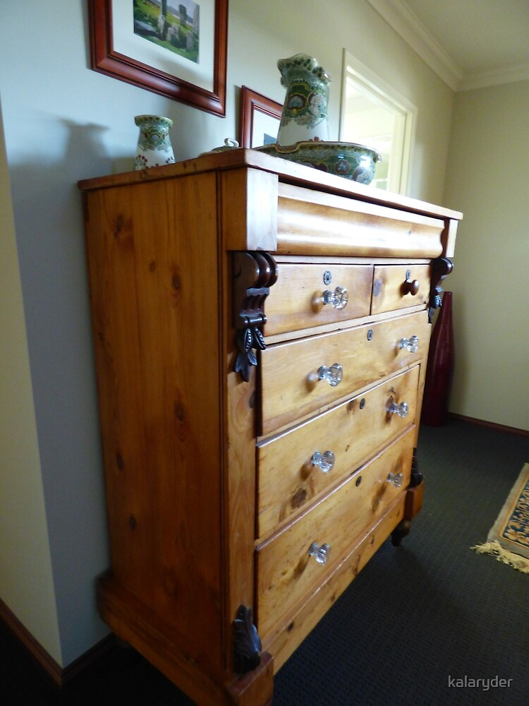 Antique Chest  by kalaryder