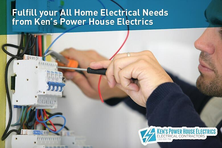 Fulfill your All Home Electrical Needs from Ken's Power House Electrics by Ken's Power House Electrics