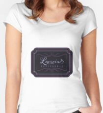 Lacroix Patisserie Branding Parody Women's Fitted Scoop T-Shirt