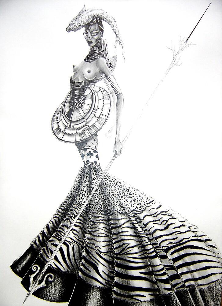 afrik a woman by eduardor