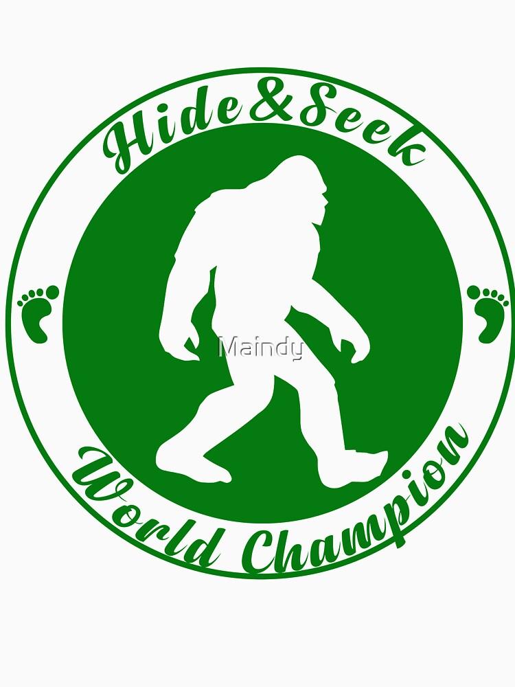 Bigfoot Hide and Seek World Chamption by Maindy