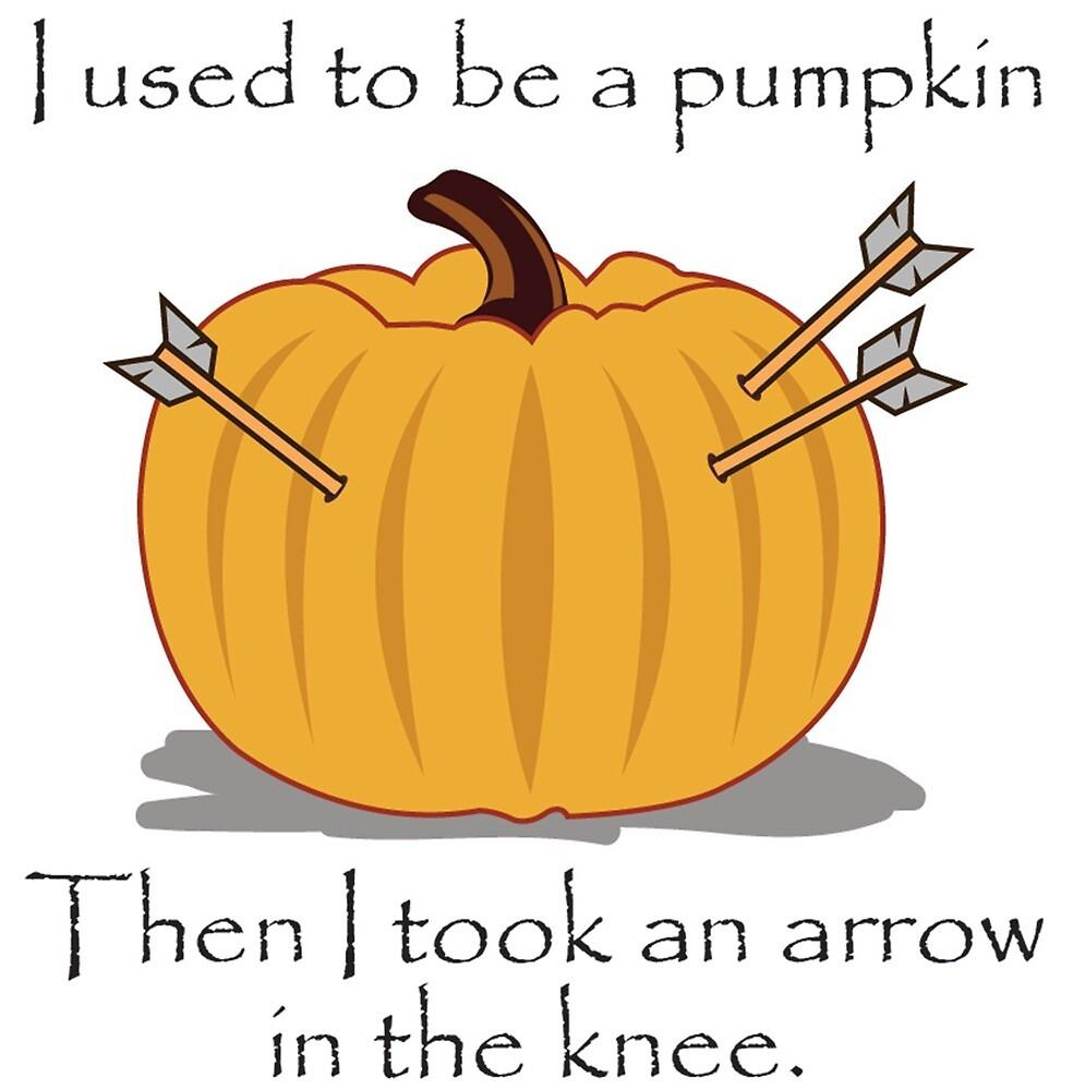 Pumpkin Knee Digital Art by SleepFace