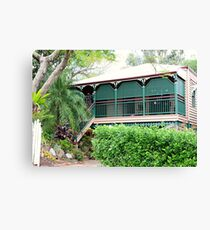 Inner city suburban house - Brisbane Canvas Print