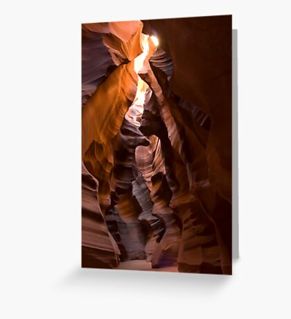 Upper Antelope Slot Greeting Card