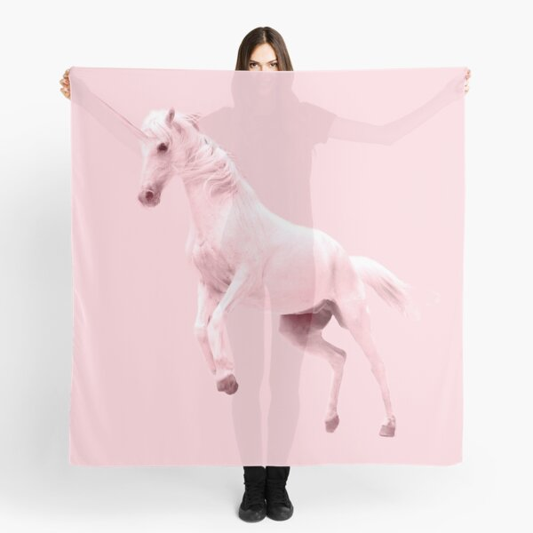 Pink Unicorn by Alice Monber Scarf