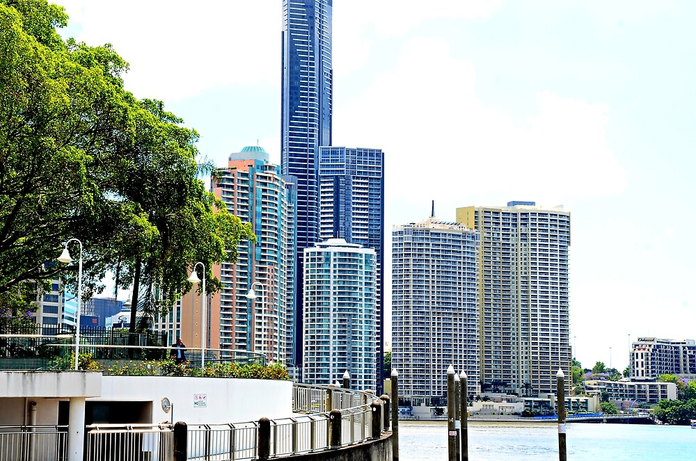 Brisbane River and city walk by Kerry LeBoutillier