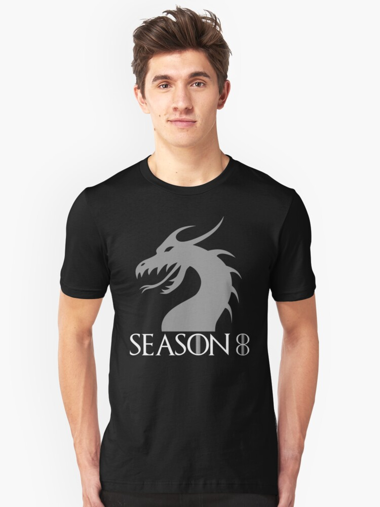 Season 8 Looking Forward Fan T-Shirt Unisex T-Shirt Front
