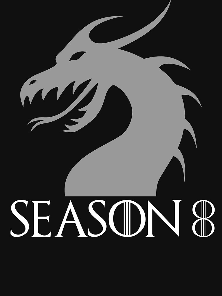 Season 8 Looking Forward Fan T-Shirt by AlienFrogTees