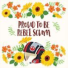 Proud to be Scum - Cream Background by goddammitstacey