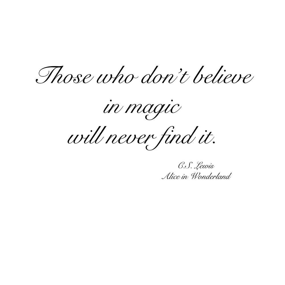 believe in magic by lamalee