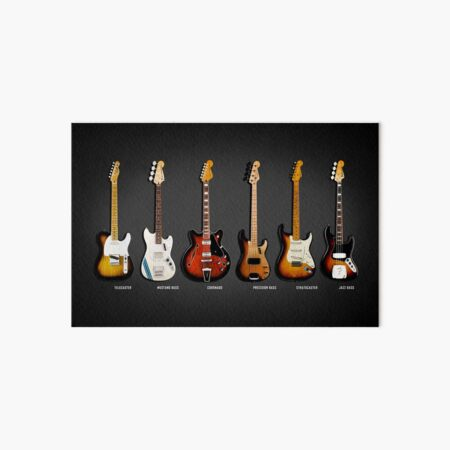 The Classic Guitar Collection Art Board Print