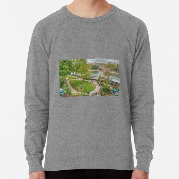 Park on Île de la Cité Lightweight Sweatshirt