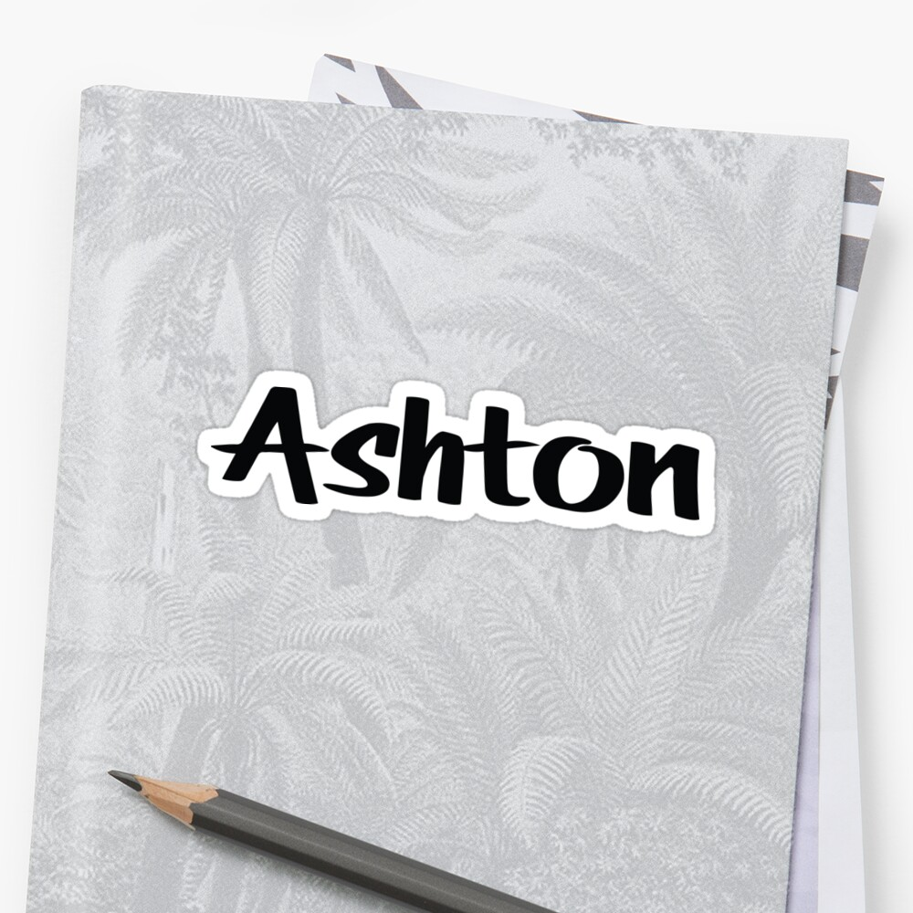 Name Ashton / Inspired by The Color of Money by ProjectX23