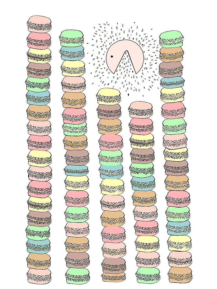 Macarons eater  by miarsmoller