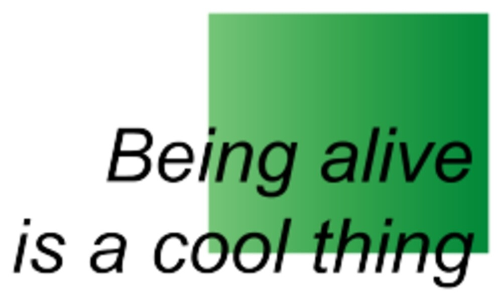 being alive is a cool thing by houndbabey