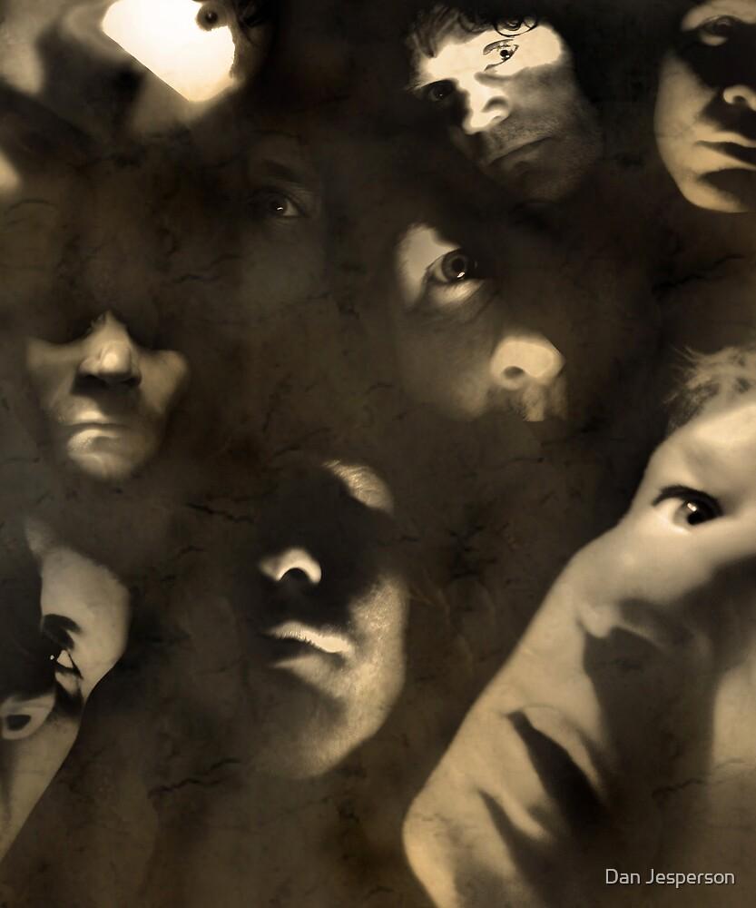 9 Heads In A Duffel Bag by Dan Jesperson