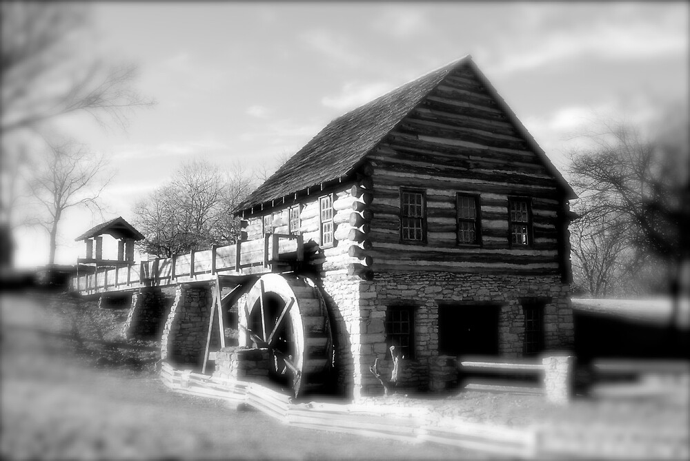 Old Mill - Hodge Park by Robert Baker
