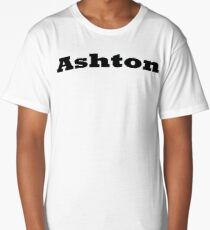 Name Ashton / Inspired by The Color of Money Long T-Shirt