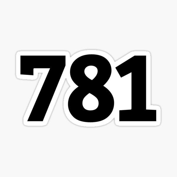 781 Sticker