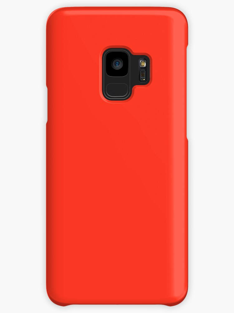 Plasma Red   Solid Colour by koovox