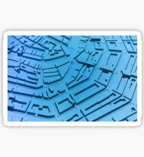 Model City Blue Sticker