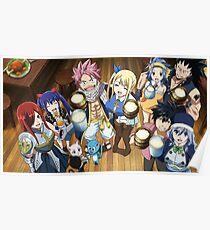 Fairy Tail - Drachenschrei Poster