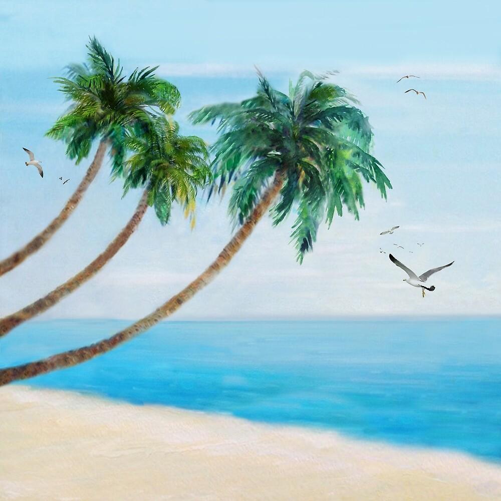 Palm Trees 2 by Nadjaa