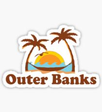 OBX - Outer Banks. Sticker