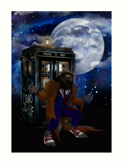 bad were wolf time travel by ADZKIYYA DESIGN
