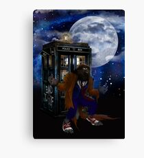 bad were wolf time travel Canvas Print