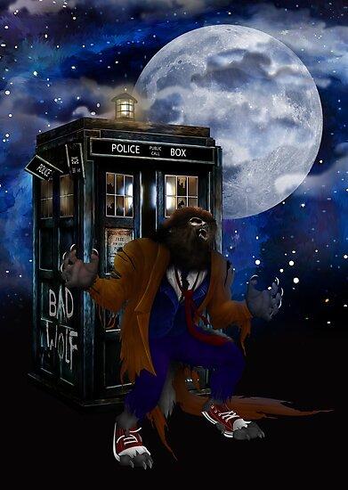 bad were wolf time travel by ADZKIYYA DESIGN