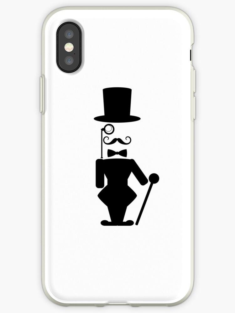 Old school gentleman with monocle character design by SooperYela