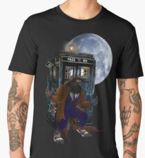bad were wolf time travel Men's Premium T-Shirt