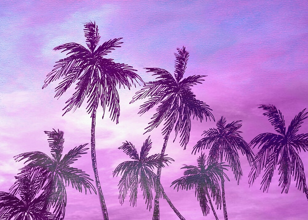 Palm Trees 3  by Nadjaa