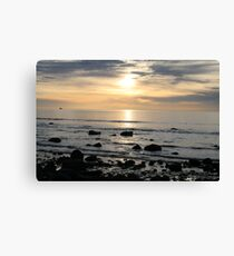 Time to reflect. Hallett Cove, S.A. Canvas Print